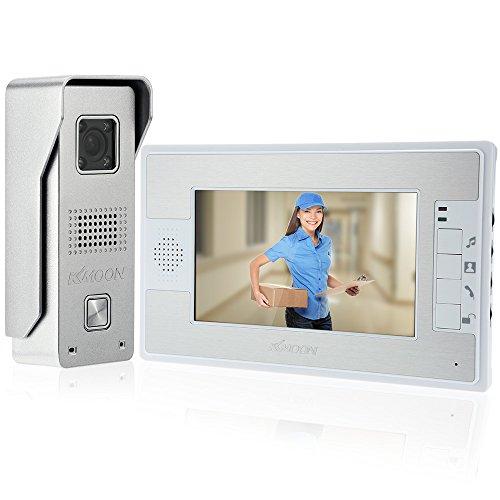 KKMOON 7 Inch Door Viewer Video Doorbell and Home Security Camera Monitor...