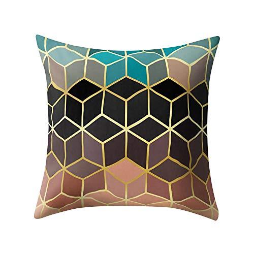 VJGOAL Hexagonal de Nido de Abeja de impresión Suave Cojín