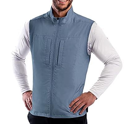 SCOTTeVEST Men's Featherweight Travel Vest | 16 Pockets | Anti-Pickpocket from
