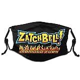 Zatch Bell! Logo Escudo facial unisex al aire libre múltiples juegos máscara antipolvo