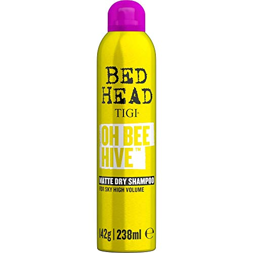TIGI Bed Head Oh Bee Hive Dry Shampoo for Volume and Matte Finish 238 ml