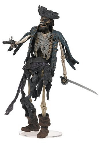 Pirates des Caraibes The curse of the black pearl S1 Cursed pirate - figurine 16 cm env