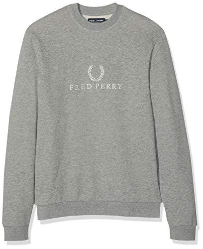 Fred Perry Mahogany Marl Classic Jumper