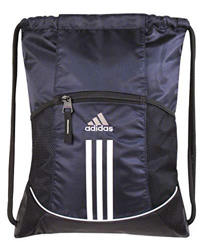 adidas Unisex Alliance Sport Sackpack, Collegiate Navy, ONE SIZE