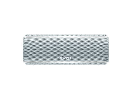 Sony SRSXB21W - Altavoz portátil Bluetooth (Extra bass, modo sonido live, party booster, luces de fiesta llamativas), color blanco
