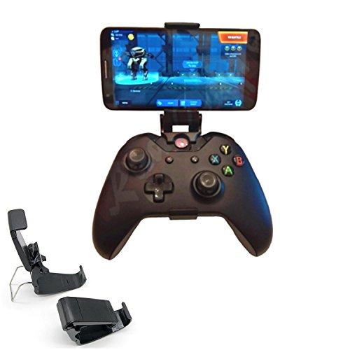 LICHIFIT Soporte para teléfonos inteligentes Soporte plegable Soporte de agarre manual Soporte de clip plegable para Xbox ONE S Slim Ones Gamepad Controller