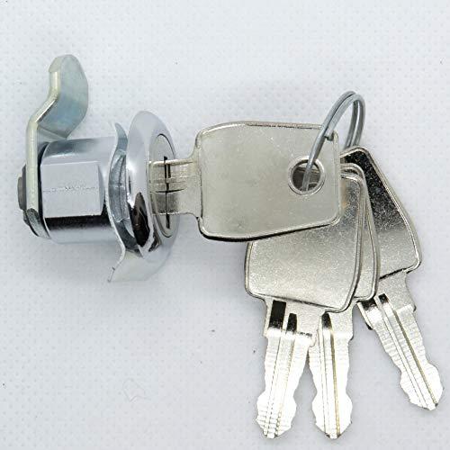Briefkastenschloss R1 Ersatz für Renz 97-9-95085 mit 4 Schlüssel Einbau ab 1990