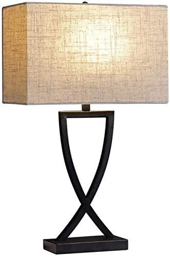 Schreibtischbeleuchtung Tischlampe Wohnzimmer Dekoration Schlafzimmer Nachttischlampe Arbeitszimmer Dimmbares Licht Moderne nordische einfache Designs Doppeljalousien Hochwertige Tischlampe