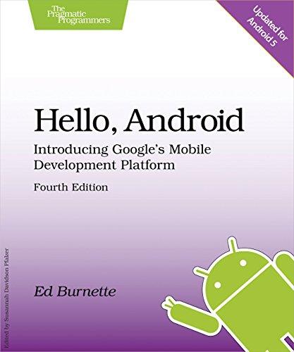 Hello, Android: Introducing Google's Mobile Development Platform