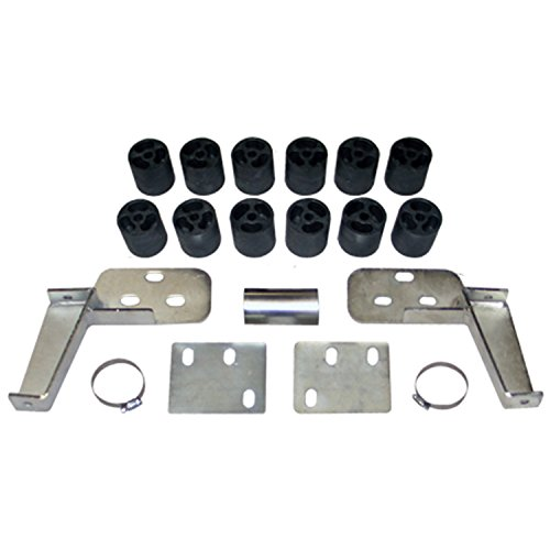 """Performance Accessories, Chevy/GMC Tahoe/Yukon/Suburban 1500 Gas 2WD and 4WD 3"""" Body Lift Kit, fits 1995 to 1999, PA123, Made in America"""