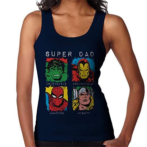 Marvel Superhero Squares Damesvest