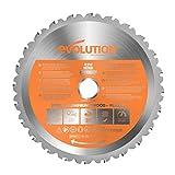Evolution Power Tools Rage Multi-Purpose Carbide-Tipped Blade, 210 mm