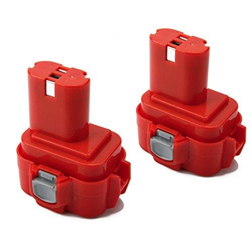 2X Shentec 9.6V 4.5 Ah Ni-MH per Batteria Makita PA09 9100 9120 9122 192595-8 192596-6 192638-6 193977-7 638344-4-2