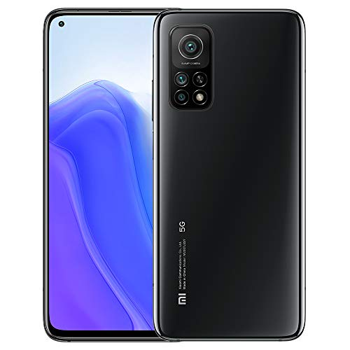"Xiaomi Mi 10T Smartphone,6GB RAM 128GB ROM Teléfono,6.67""FHD DotDisplay Qualcomm Snapdragon 865G Octa-Core Procesador con NFC,AI Face Unlock 64MP Triple Cámara Versión Global(Negro)"