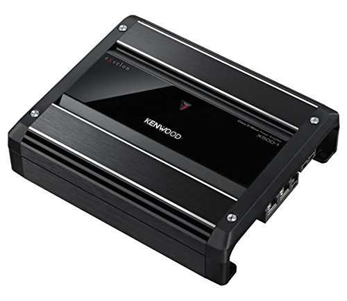 Kenwood eXcelon X500-1 1000 Watts Class D Amplifier
