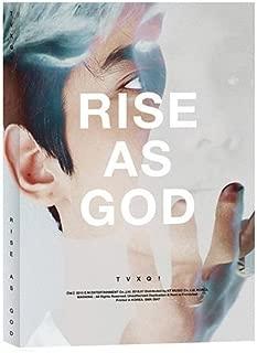 東方神起 RISE AS GOD スペシャルアルバム 【 ホワイト チャンミン ver 】( CD+Photobooklet)...