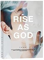 東方神起 RISE AS GOD スペシャルアルバム 【 ホワイト チャンミン ver 】( CD+Photobooklet)
