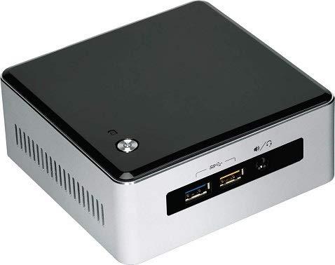 Intel NUC Mini PC Intel Core i3-5010U 2X 2,1GHz 8GB RAM 500GB SSD Bluetooth 4.0 Mini HDMI RJ-45 USB 3.0 Windows 10 Professional
