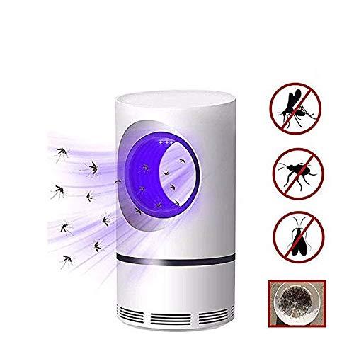 Preisvergleich Produktbild Divgdovg Elektrischer Insektenvernichter-Anti-Moskito Lampe - Elektrischer UV Insektenvernichter Mückenfalle von Kindern - Tötet Insekten mit 368NM USB-Ultraviolettlicht-LED,  Keine Chemikalien, Runde