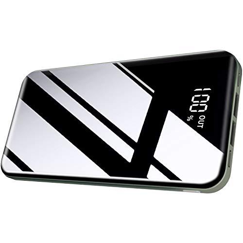 Todamay Batería Externa 26800mAh Carga Rápida Power Bank con 3 Entradas y 2 Puertos USB Cargador Portátil Móvil Ultra Alta Capacidad con Pantalla LCD Digital para Smartphones Tabletas y Más