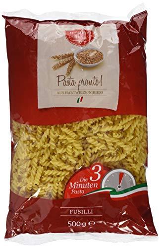 mamma lucia Pasta Pronto Fusilli - Schnellkochpasta, 10er Pack (10 x 500 g)