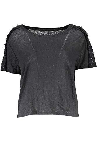 GUESS JEANS T-Shirt Maniche Corte Donna Nero