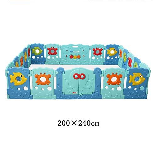 Fantastic Deal! X/L Foldable Children's Playpen, Double-Door Infant Safety Yard (Indoor Or Outdoor) ...