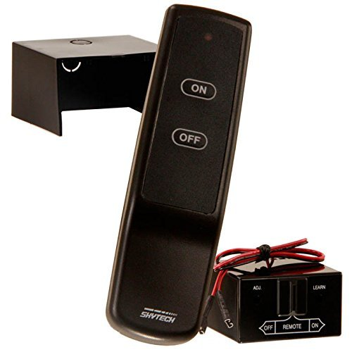 Skytech 9800336 SKY-CON Fireplace Remote Control for Latching Solenoid Gas Valves
