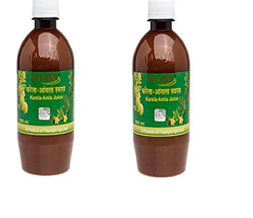 Patanjali Karela Amla Juice- 500Ml (Pack of 2)
