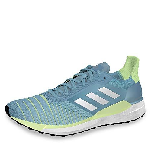 Adidas Solar Glide W - Zapatillas de Deporte para Mujer, Multicolor (Gricen/Ftwbla/Amalre) 38 EU