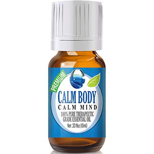 Calm Body, Calm Mind Blend Essential Oil - 100% Pure Therapeutic Grade Calm Body, Calm Mind Blend Oil - 10ml