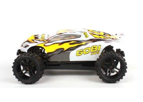 Amewi 22107 Gobi Mini Truggy 1:18, 4WD, RTR, komplettmontiert mit Fernsteuerung