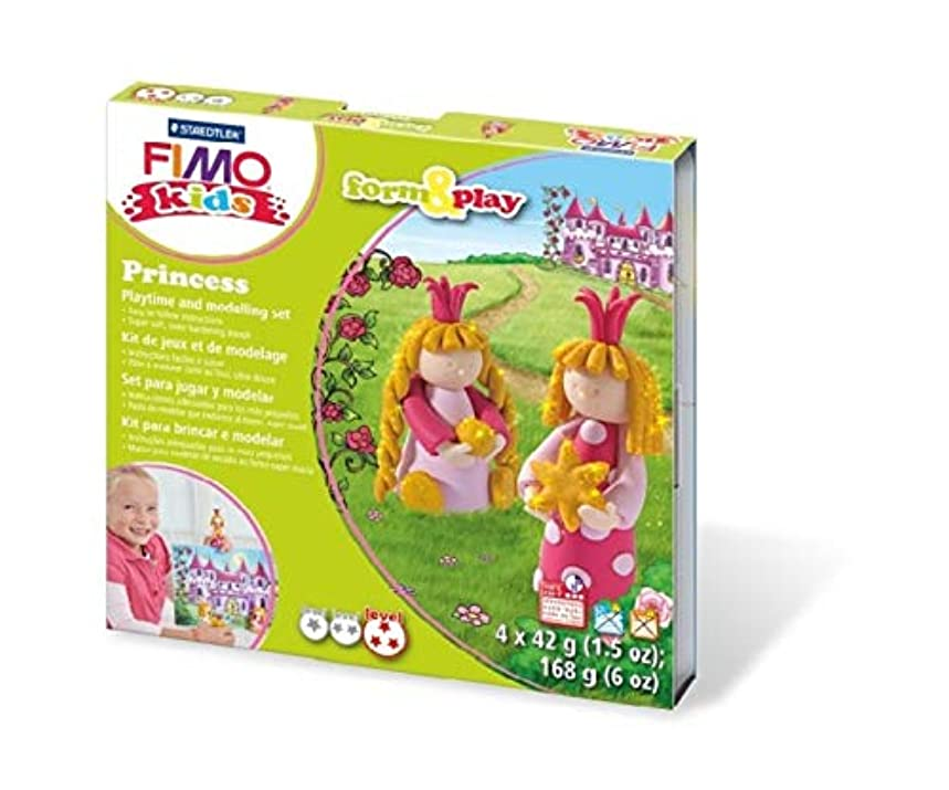 Staedtler Fimo Kids Form and Play Set, Princess