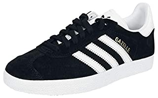 adidas Gazelle, Baskets Homme - Noir (Core Black/White/Gold Metallic) - 40 2/3 FR (B01EI9JNBA) | Amazon price tracker / tracking, Amazon price history charts, Amazon price watches, Amazon price drop alerts