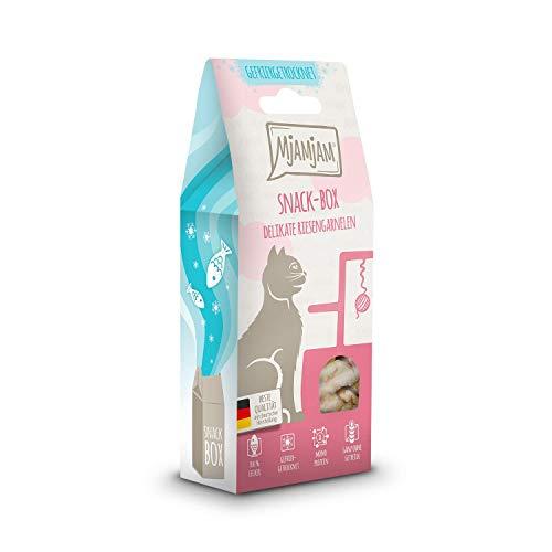 MjAMjAM - Snackbox para Gatos - Langostinos delicados - Natural - 25 g