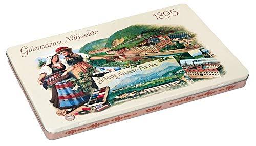 Gutermann Juego de hilos de hojalata vintage (100 m, 48 carretes, multicolor, talla única)