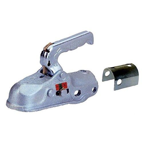 Tete attelage remorque freinee pour boule 50 mm 3000 Kg de charge