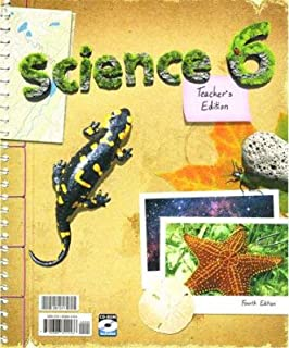 Science 6 Teacher Book with CD Grade 6 4th Edition