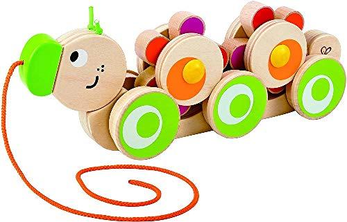 Hape Wooden Caterpillar Pull Toy