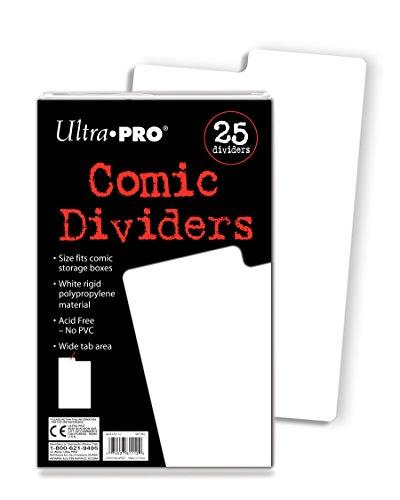 Ultra Pro Comic scheidingswanden.