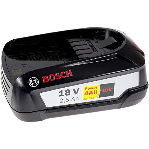 Powery Batería de Alta Capacidad para Bosch Soplador de Hojas ALB 18 Original 2500mAh