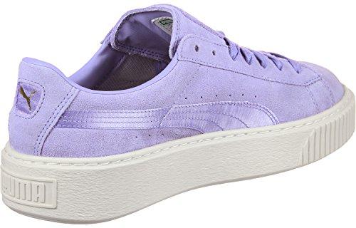 Puma Suede Platform Mono Satin W Schuhe lavender