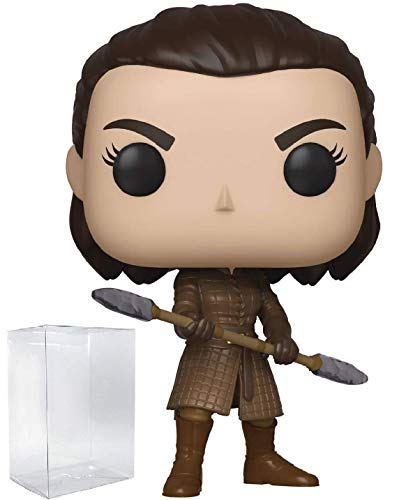 Game of Thrones: Arya Stark with Two Headed Spear Pop! Vinyl Figure (Includes Compatible Pop Box Protector Case)
