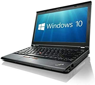 Lenovo X230 (12 pulgadas Laptop) [Intel Core i5 3320M 2.60GHz, 8GB Memory, 256GB SSD,with Windows 10 Professional (Reacondicionado)