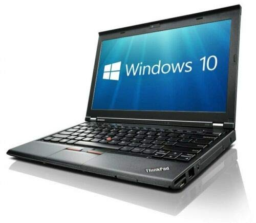 Lenovo X230 (12in Laptop) [Intel Core i5 3320M 2.60GHz, 8GB Memory, 256GB SSD,with Windows 10 Professional (Renewed)
