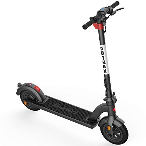 Gotrax G4 Commuting Electric Scooter - 10' Air Filled Tires - 20MPH & 25 Mile Range, Black