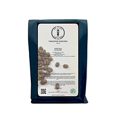 Café de especialidad en grano, tueste natural. 1kg de café recién tostado de Costa Rica 'La pastora'