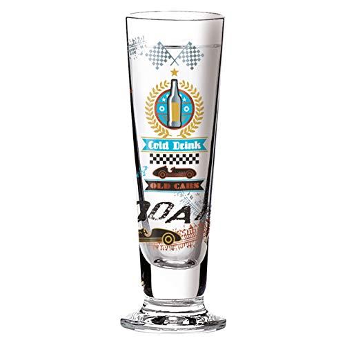 Ritzenhoff Black Label Schnapsglas, Kristallglas, Gold, Platin, Kupfer, Schwarz, Türkis, Weiß, 3.5 cm