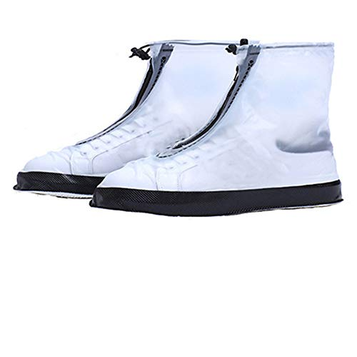 Phosphor Bright and colorful candy-colored rain boots cover thick waterproof rain boots cover rainy skid shoe covers (only includes shoe covers)