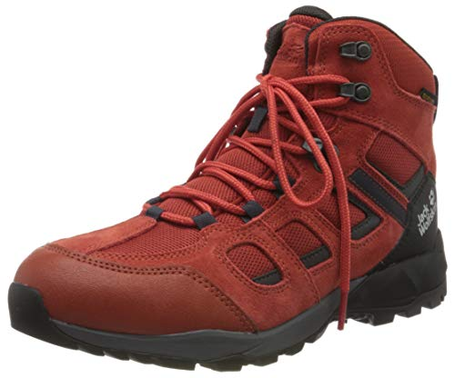 Jack Wolfskin Herren Vojo Hike XT Texapore MID M Walking-Schuh, Dark orange/Black, 47 1/3 EU